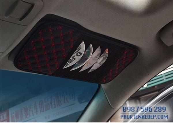 Túi đựng CD và giấy lau cho ô tô 1