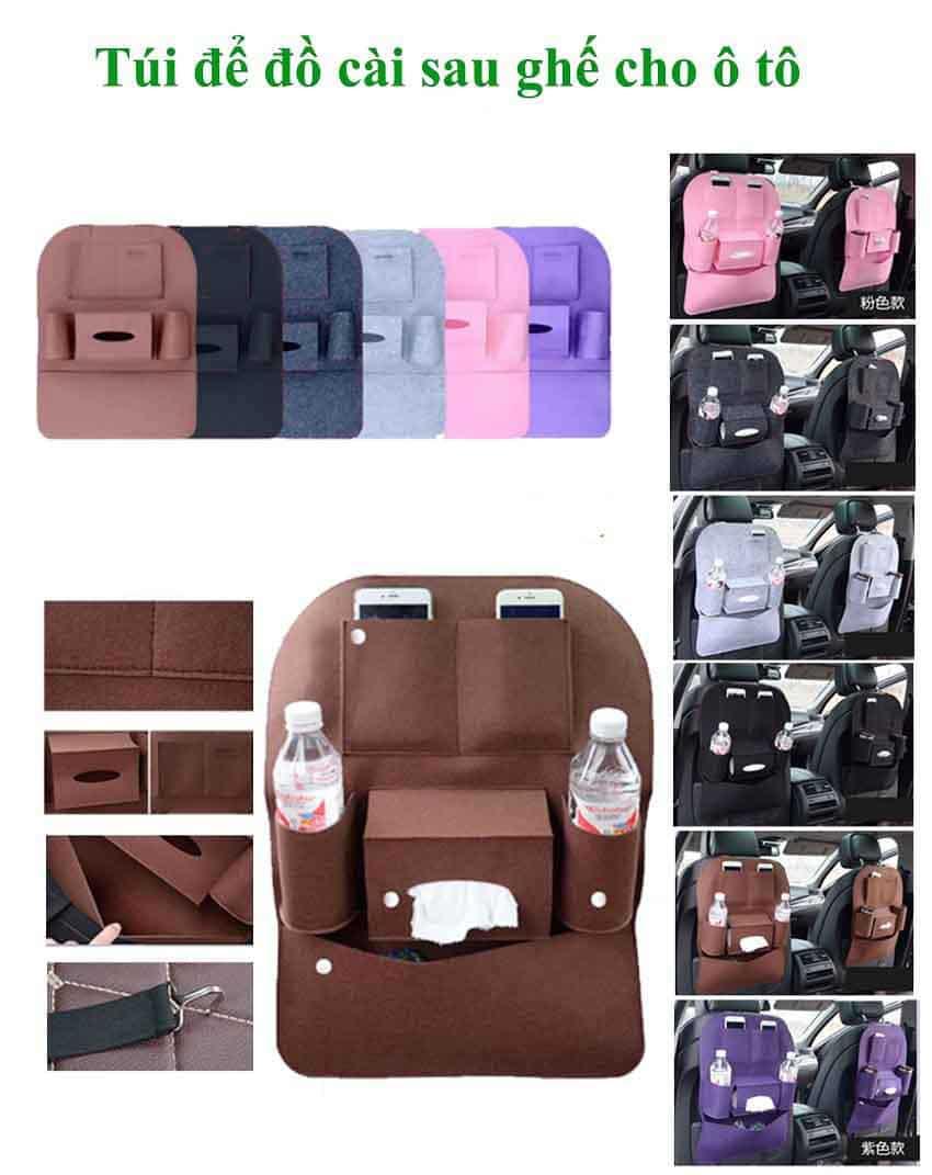 Túi đựng đồ lưng ghế ô tô – mẫu 3