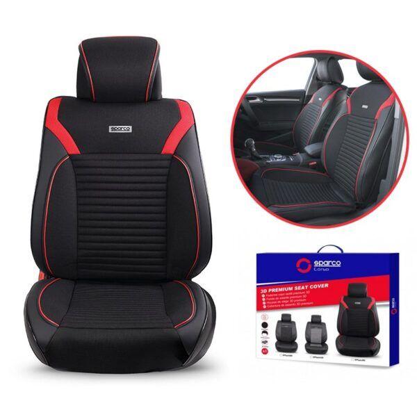 Áo ghế ô tô Sparco Premium chính hãng bảo hành 12 tháng