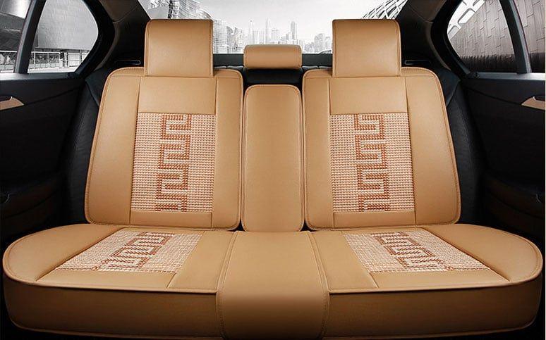 Bộ áo da 3D bọc ghế da ô tô – mẫu 5 2
