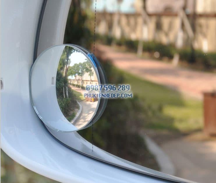Gương cầu lồi ô tô kính hậu xoay 360