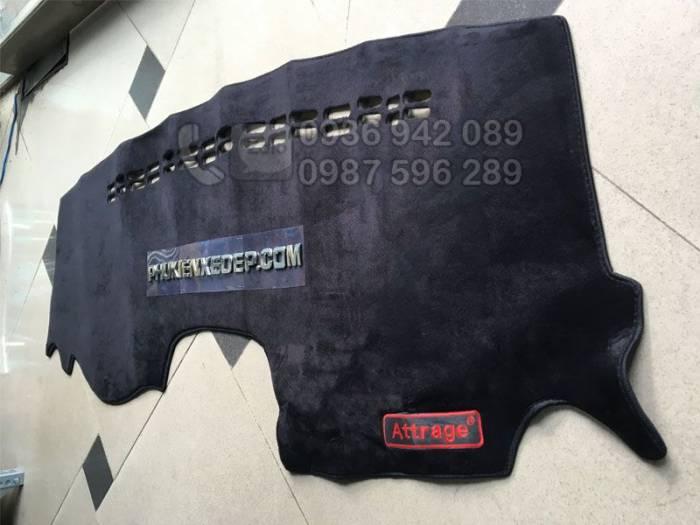 Thảm chống nóng taplo cho xe Attrage