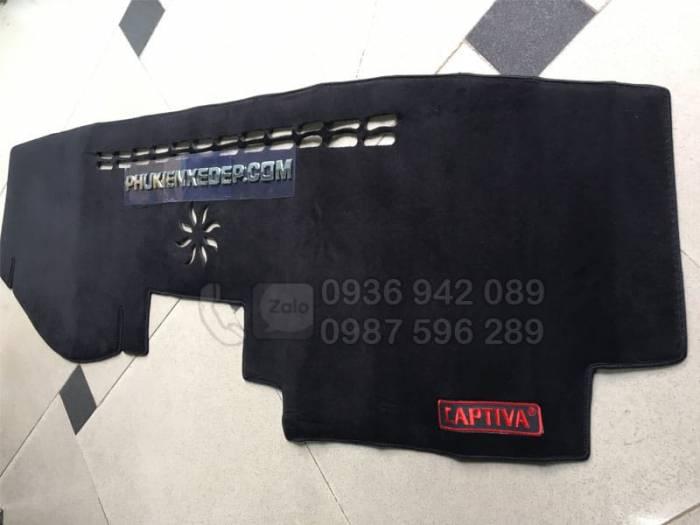 Thảm chống nóng taplo cho xe Chevrolet Captiva