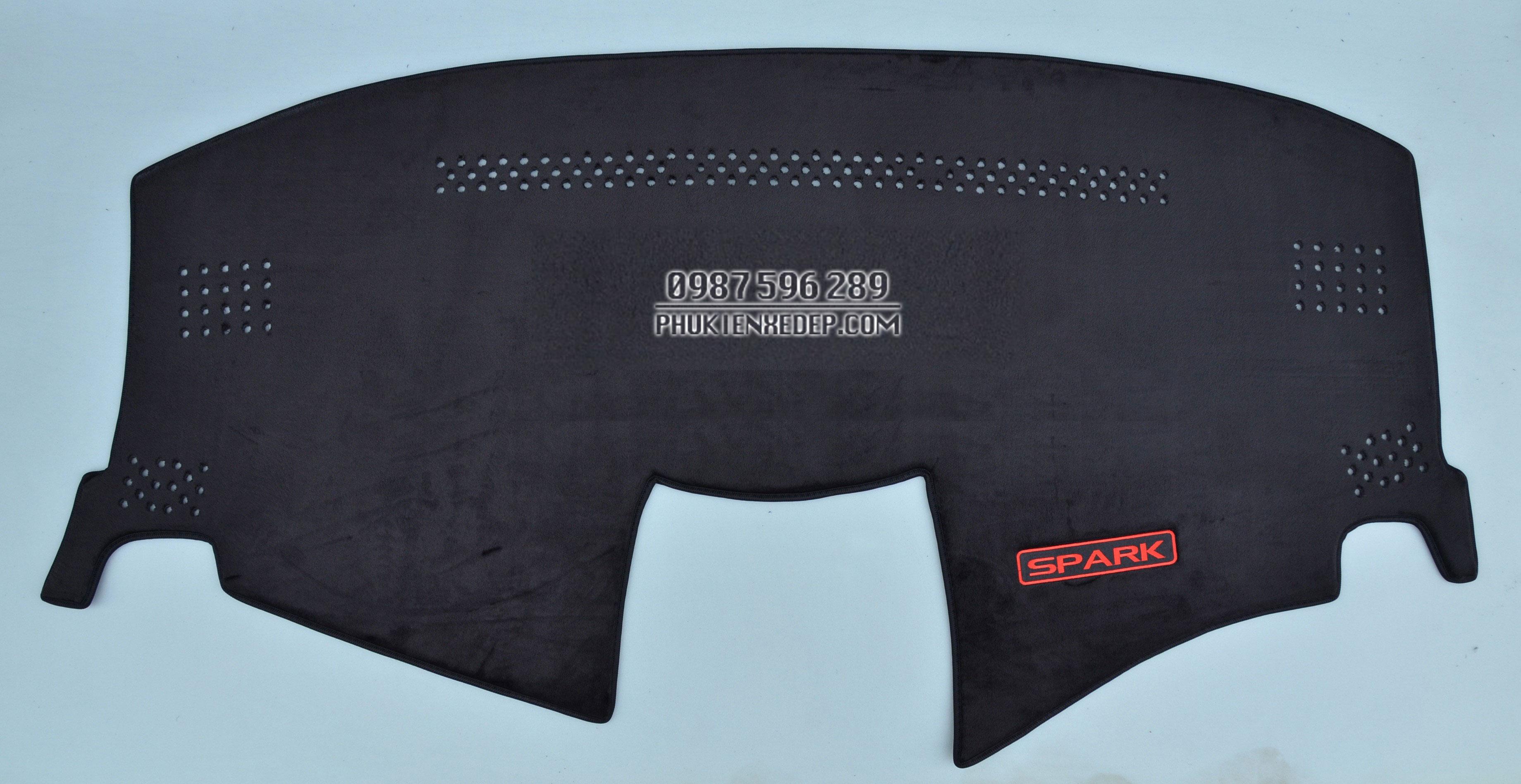 Thảm chống nóng taplo cho xe Chevrolet Spark 1