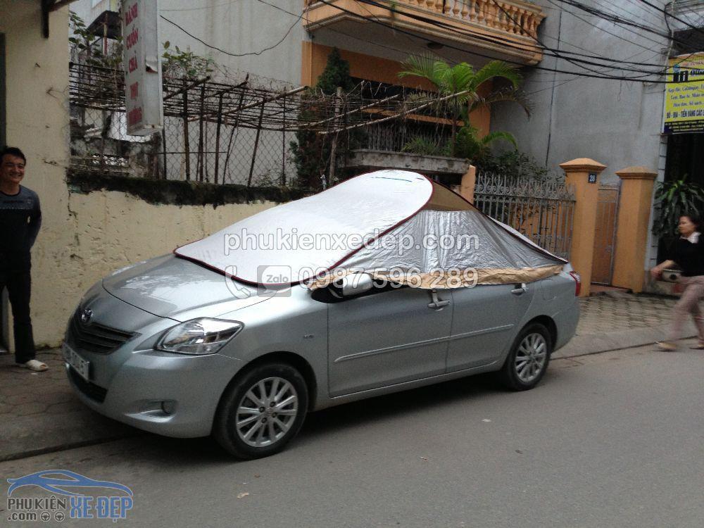 Bạt phủ xe ô tô, bạt phủ nóc xe 4 chỗ 1