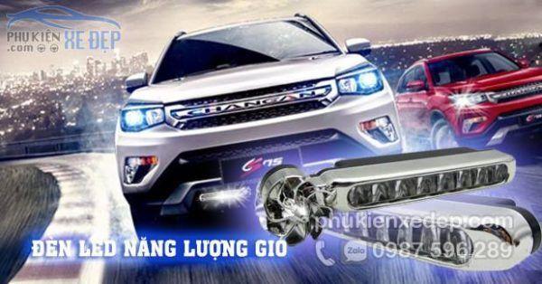 Đèn LED năng lượng gió cho ô tô 2