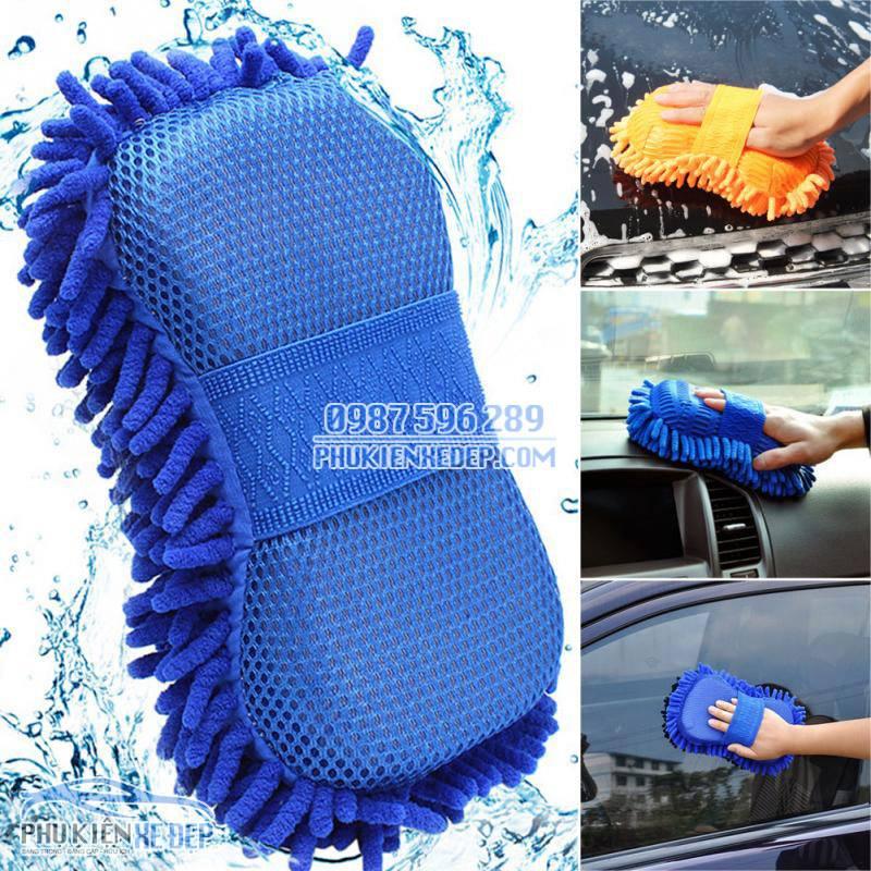 Găng tay rửa xe ô tô chuyên dụng 1