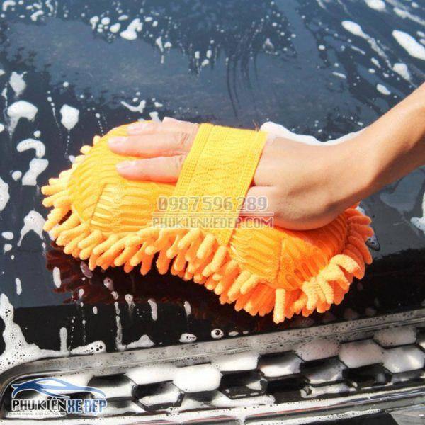 Găng tay rửa xe ô tô chuyên dụng 2