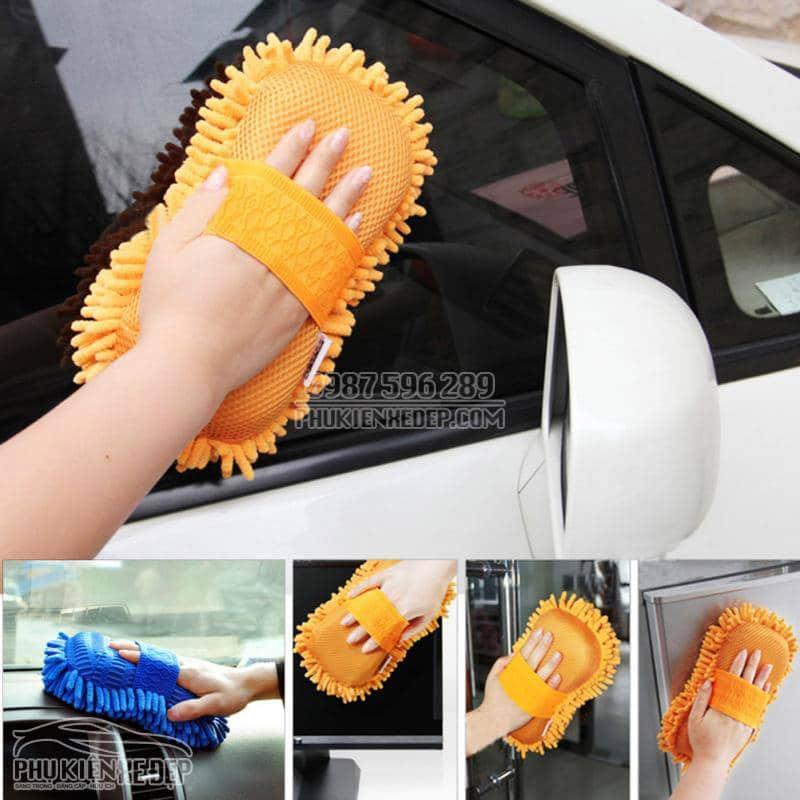 Găng tay rửa xe ô tô chuyên dụng 6