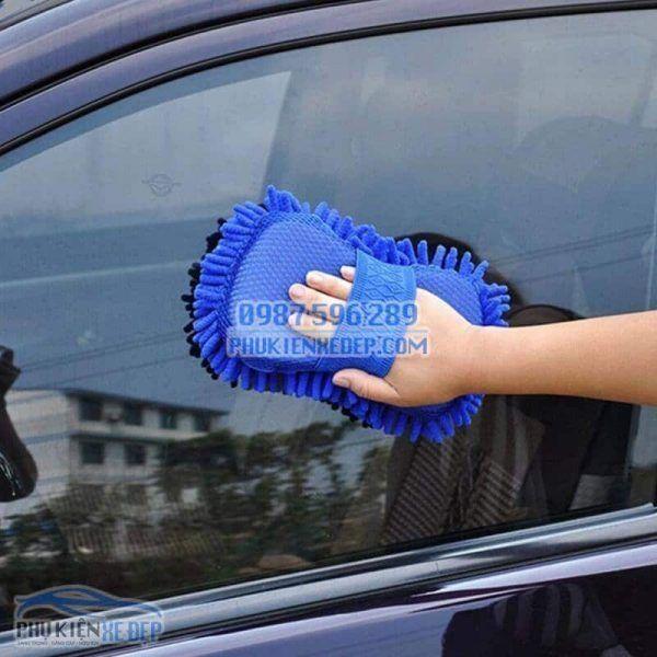 Găng tay rửa xe ô tô chuyên dụng 8