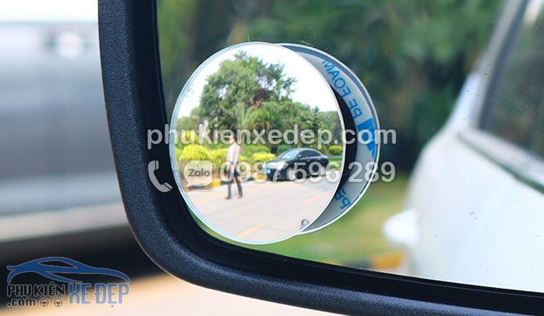 Gương cầu lồi ô tô kính chiếu hậu xoá điểm mù 2
