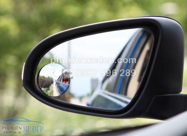 Gương cầu lồi ô tô kính chiếu hậu xoá điểm mù 3