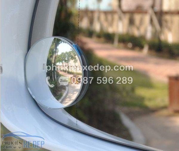 Gương cầu lồi ô tô kính chiếu hậu xoá điểm mù 4