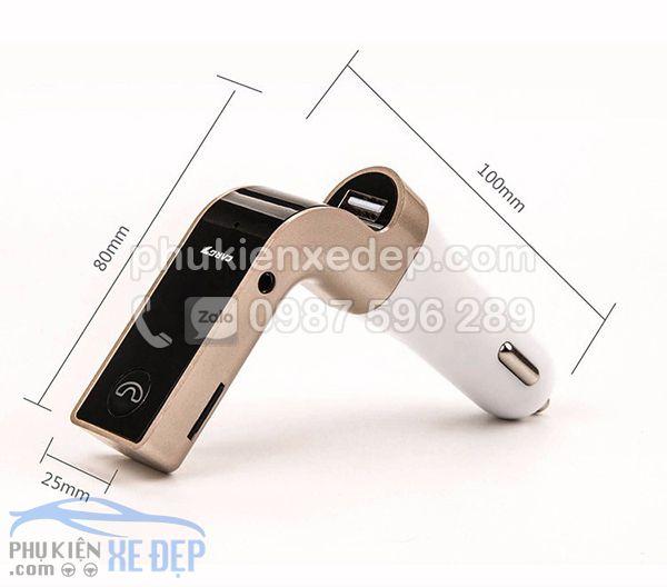 Máy nghe nhạc tẩu MP3 Bluetooth cho xe hơi 1