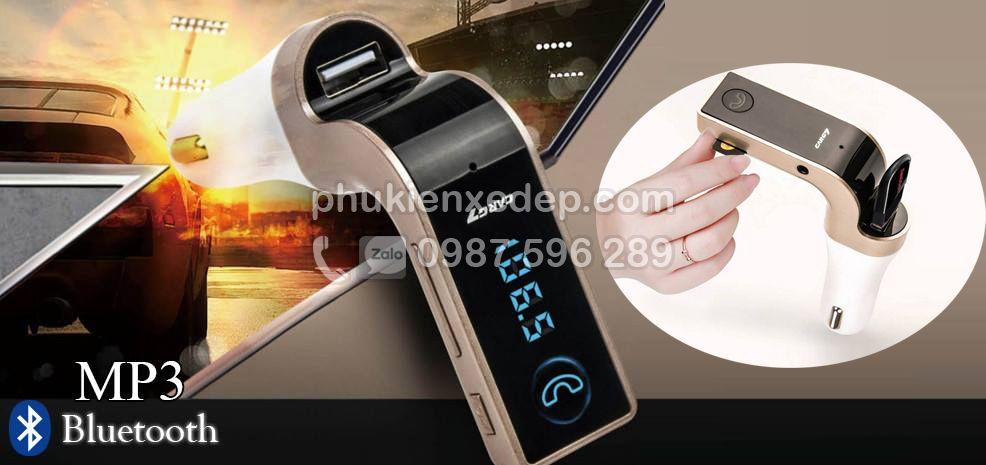 Máy nghe nhạc tẩu MP3 Bluetooth cho xe hơi 2