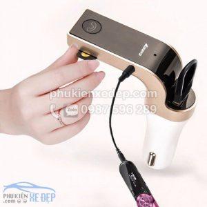 Máy nghe nhạc tẩu MP3 Bluetooth cho xe hơi 4