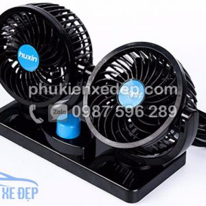 Quạt điện 12v - 24v mini cho ô tô 2