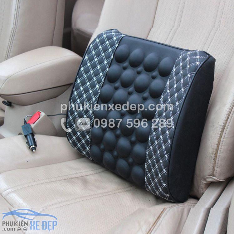 Gối tựa lưng xe hơi massage điện Cho Ô Tô 4