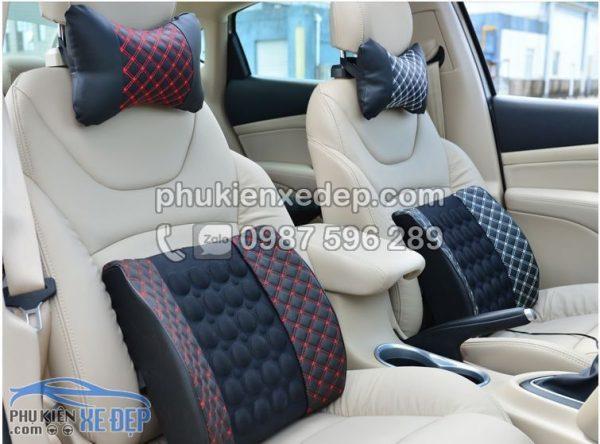 Gối tựa lưng xe hơi massage điện Cho Ô Tô 1