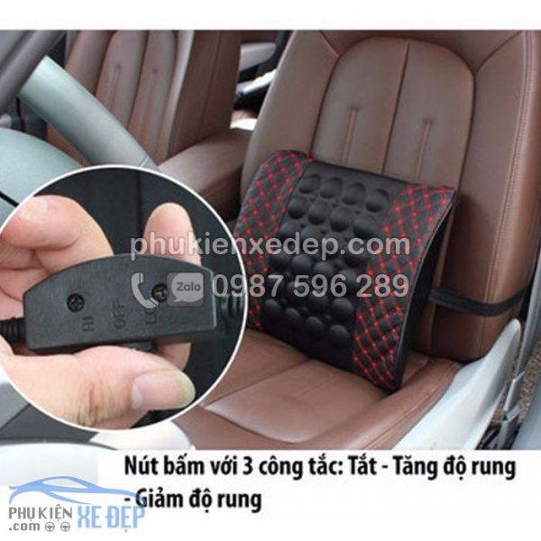 Gối tựa lưng xe hơi massage điện Cho Ô Tô 3