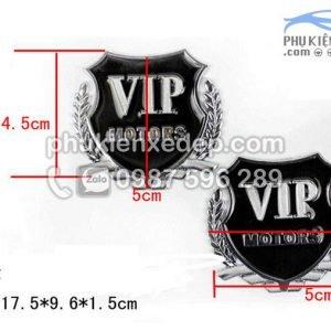 Huy hiệu VIP trang trí xe 2