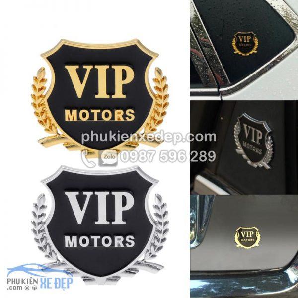 Huy hiệu VIP trang trí xe 3