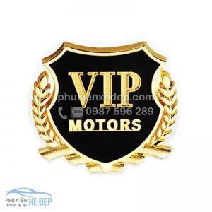 Huy hiệu VIP trang trí xe 4