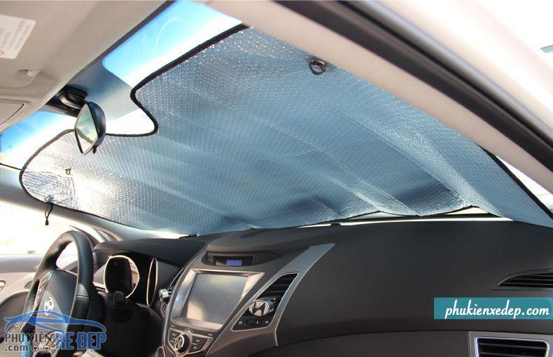 Tấm chắn nắng xe ô tô - che nắng kính lái 4