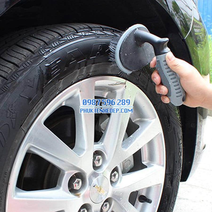Bàn chải cọ lốp xe ô tô - xe hơi 3