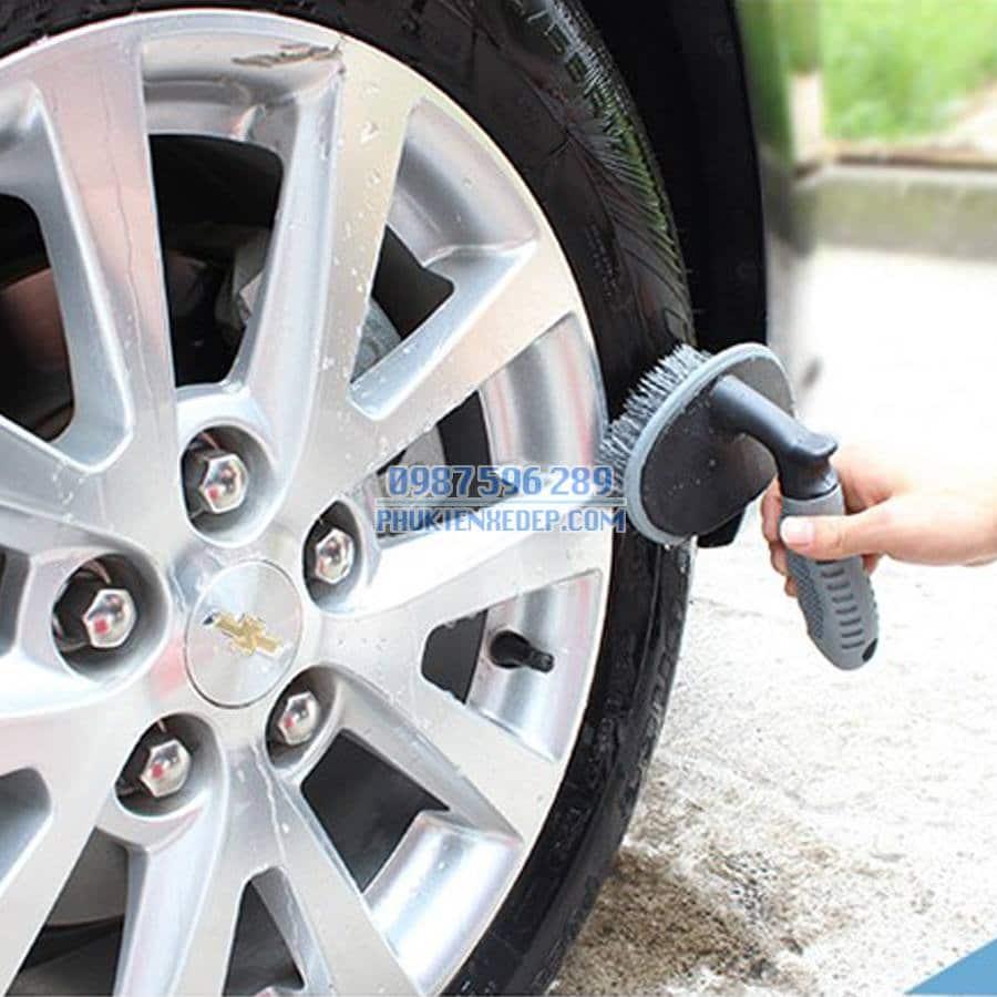 Bàn chải cọ lốp xe ô tô - xe hơi 5