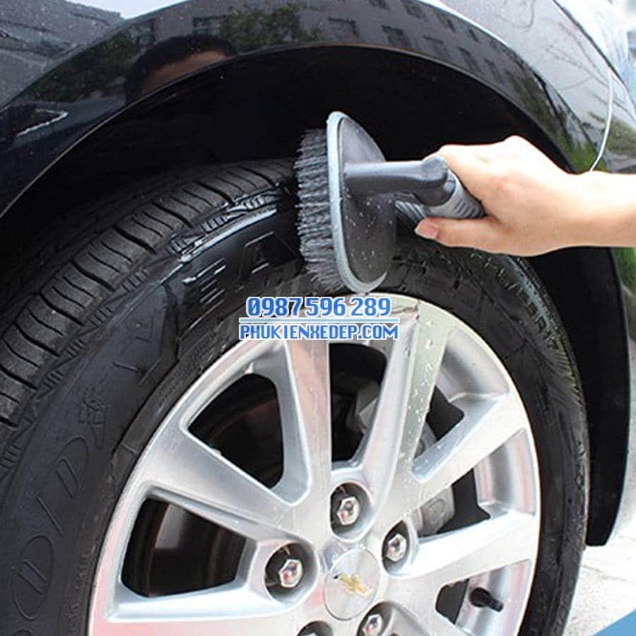 Bàn chải cọ lốp xe ô tô - xe hơi 6