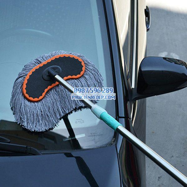 Chổi rửa xe ôtô cán dài chuyên dụng 4