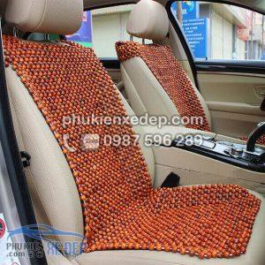 Đệm Lót ghế ô tô hạt gỗ Hương 4