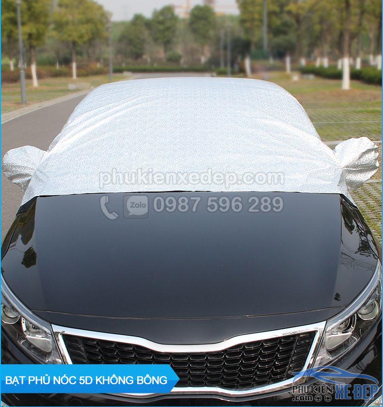 Bạt phủ nóc ô tô và chống nóng 5D không lót bông 12