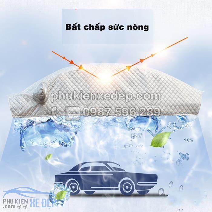 Bạt phủ nóc ô tô và chống nóng 5D không lót bông 1