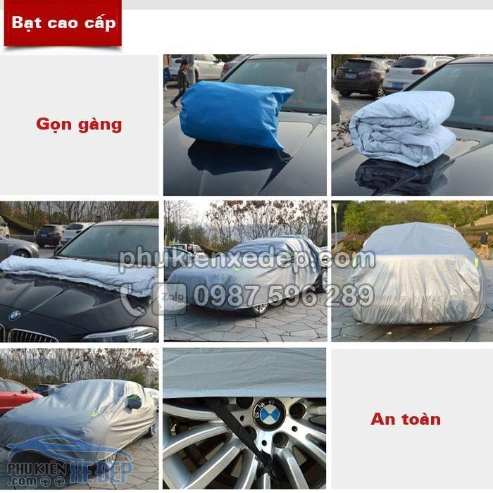 Bạt phủ ô tô PVC che phủ chống xước 2