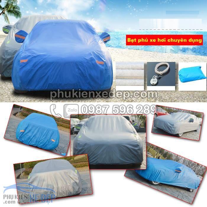Bạt phủ ô tô PVC che phủ chống xước 3