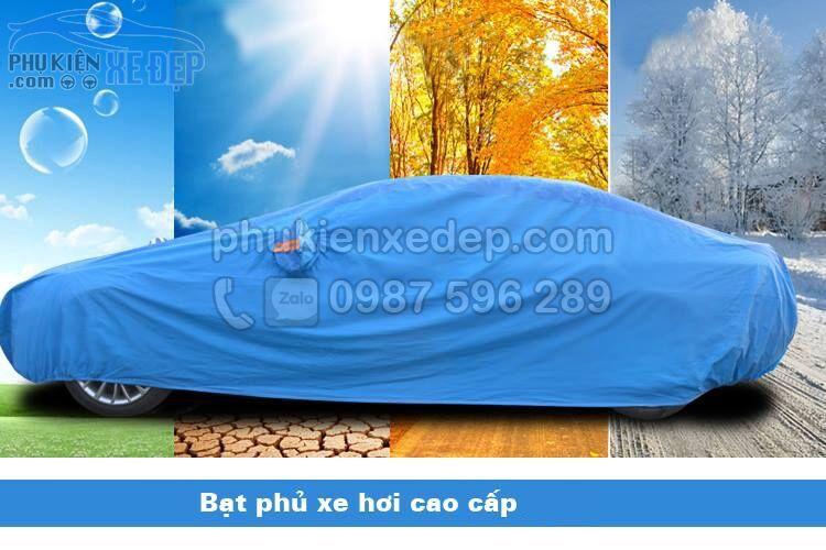 Bạt phủ ô tô PVC che phủ chống xước 4