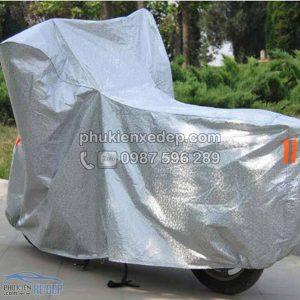 Bạt phủ xe máy, áo trùm 3D tráng nhôm 2