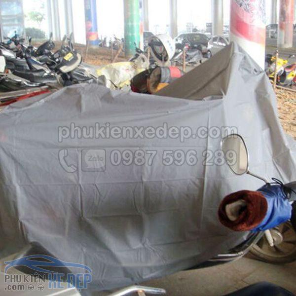 Bạt phủ xe máy, áo trùm - Mẫu 13
