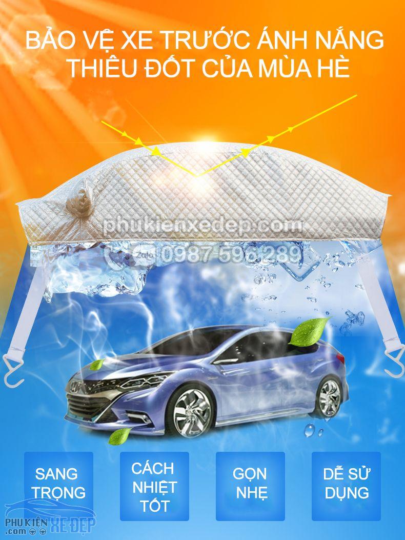 Bạt phủ xe ô tô và chống nóng 5D có bông 14