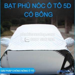 Bạt phủ xe ô tô và chống nóng 5D có bông 18