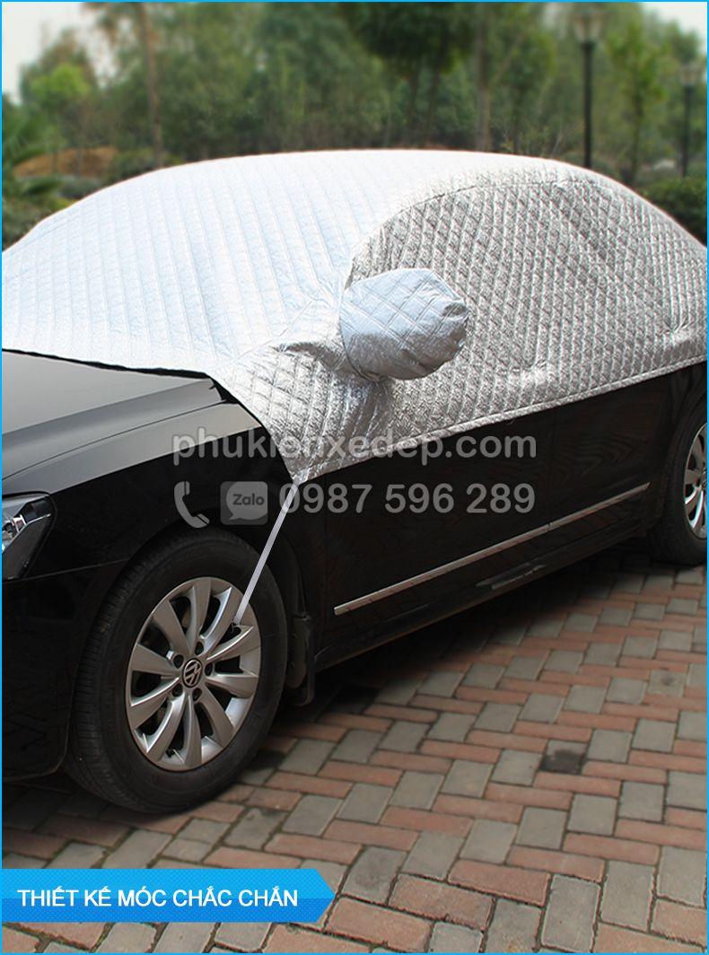 Bạt phủ xe ô tô và chống nóng 5D có bông 19