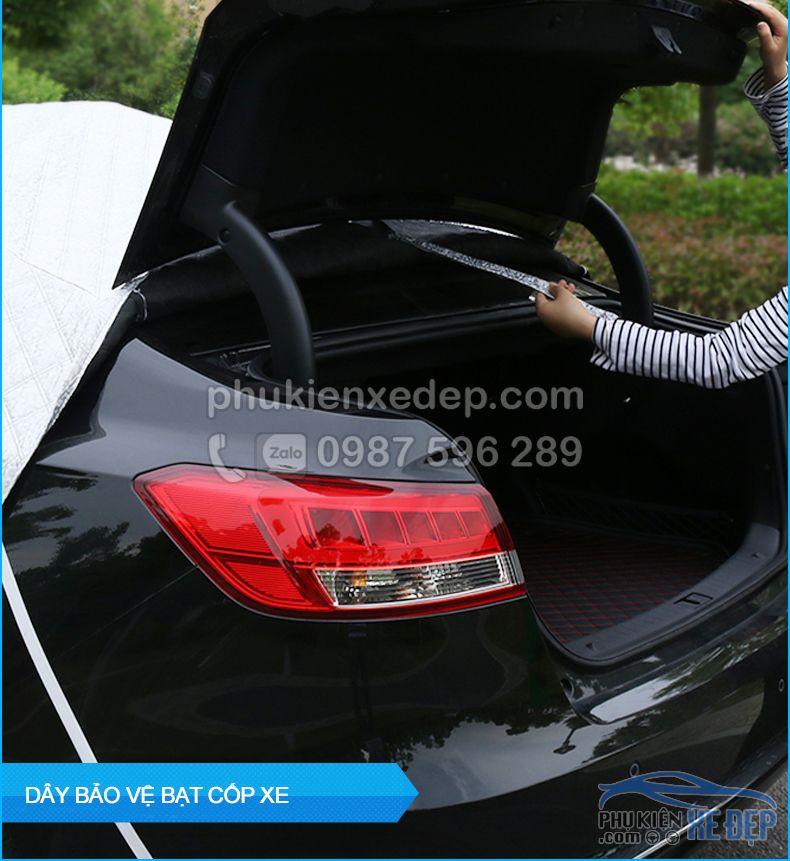 Bạt phủ xe ô tô và chống nóng 5D có bông 20