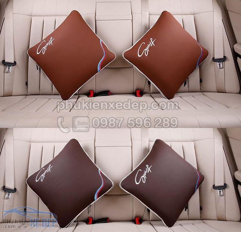 Gối tựa lưng ô tô kiêm chăn trên xe hơi 2