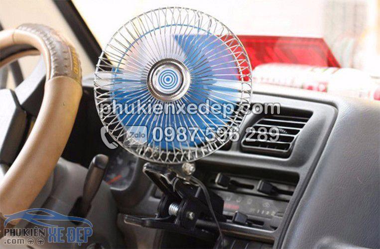 Quạt 24v kẹp trên ô tô, xe hơi 3