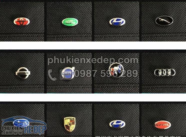 Túi đựng đồ cốp xe ô tô gắn logo hãng xe 3