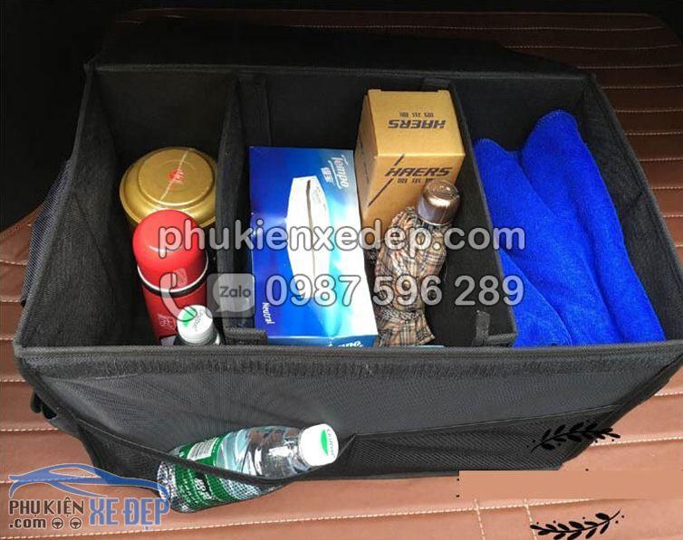 Túi đựng đồ cốp xe ô tô gắn logo hãng xe 6