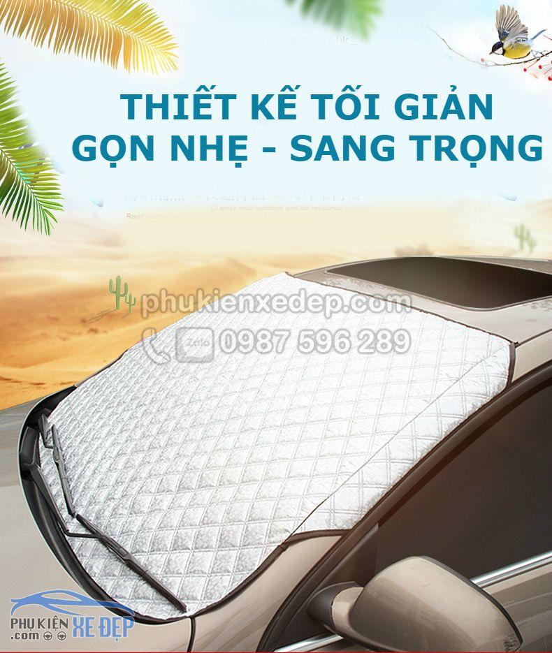 Tấm che nắng kính lái ô tô - Mẫu 46