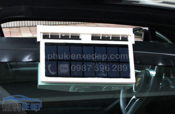 Quạt hút khí nóng ô tô năng lượng mặt trời 8